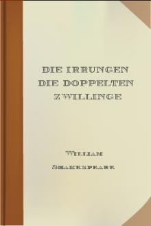 Die Irrungen Die Doppelten Zwillinge by William Shakespeare