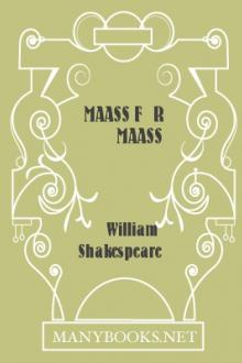 Maass für Maass by William Shakespeare