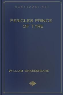 Pericles Prince of Tyre by William Shakespeare