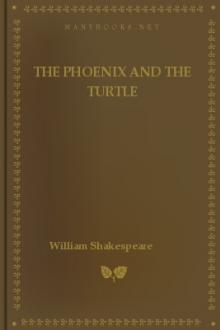 The Phoenix and the Turtle by William Shakespeare