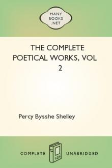 The Complete Poetical Works, vol 2 by Percy Bysshe Shelley