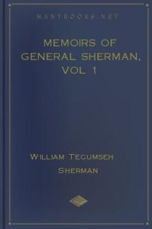 Memoirs of General Sherman, vol 1