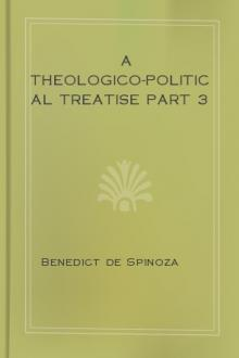 A Theologico-Political Treatise part 3 by Benedict de Spinoza