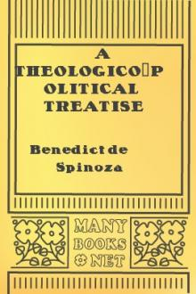 A Theologico-Political Treatise part 4 by Benedict de Spinoza