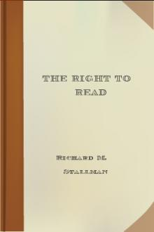 The Right to Read by Richard M. Stallman
