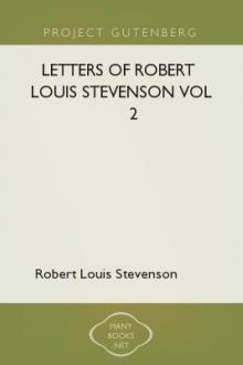 Letters of Robert Louis Stevenson Vol 2