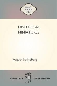 Historical Miniatures by August Strindberg