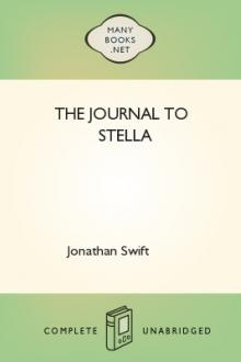 The Journal to Stella by Jonathan Swift