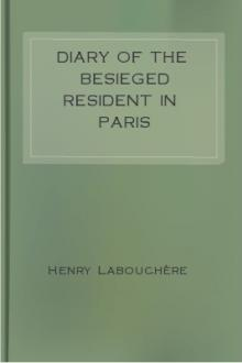 Diary of the Besieged Resident in Paris by Henry Labouchère