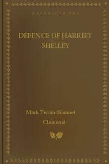 Defence of Harriet Shelley by Mark Twain