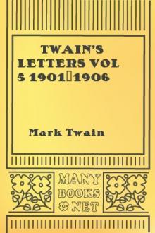 Twain's Letters vol 5 1901-1906