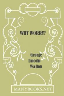 Why Worry?  by George Lincoln Walton