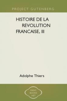 Histoire de la Revolution francaise, III