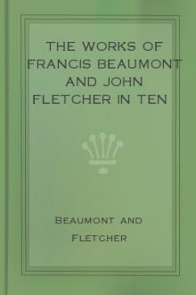 The Works of Francis Beaumont and John Fletcher in Ten Volumes – Volume I.