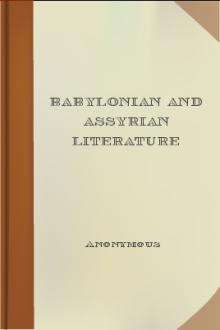 Babylonian and Assyrian Literature by Unknown