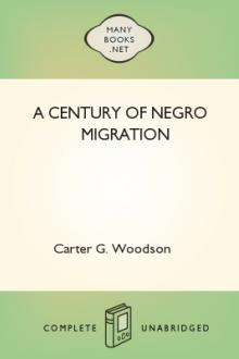A Century of Negro Migration by Carter G. Woodson