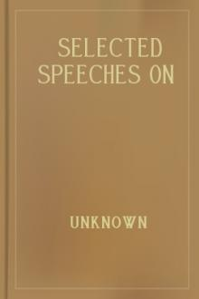 Selected Speeches on British Foreign Policy 1738-1914 by Unknown
