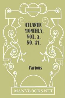 Atlantic Monthly, Vol. 7, no. 41, March, 1861