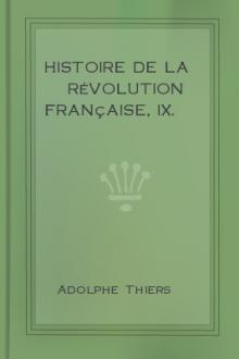 Histoire de la Révolution française, IX.