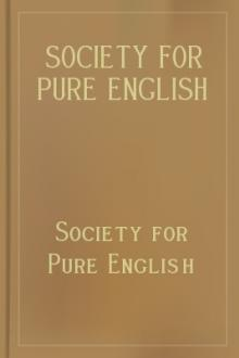 Society for Pure English Tract 1 (Oct 1919)