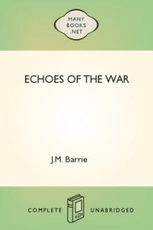 Echoes of the War by J. M. Barrie