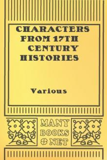 Characters from 17th Century Histories and Chronicles by Unknown