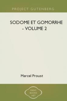 Sodome et Gomorrhe – Volume 2