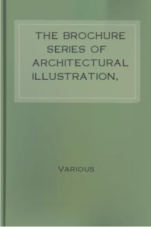 The Brochure Series Of Architectural Illustration, Vol 1, No. 2. February 1895.