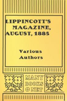 Lippincott's Magazine, August, 1885
