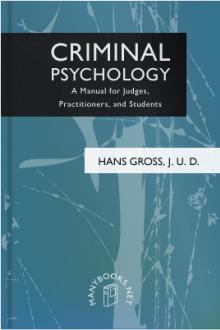 Criminal Psychology by Hans Gross