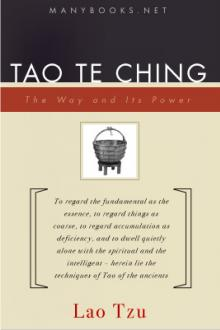 Tao Te King (Dao 'h Ching) by Lao Tzu