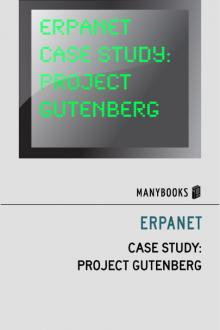 ERPANET Case Study: Project Gutenberg by ERPANET