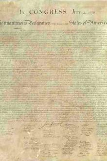 The Declaration of Independence of The United States of America by Thomas Jefferson