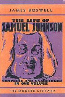 The Life of Samuel Johnson, vol 1 by James Boswell