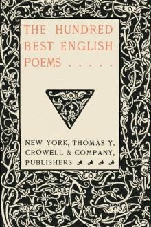 The Hundred Best English Poems by Unknown