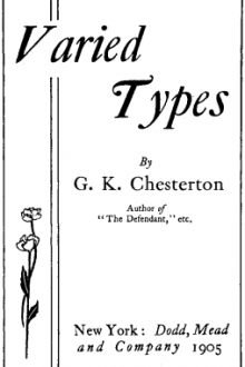 Varied Types by G. K. Chesterton
