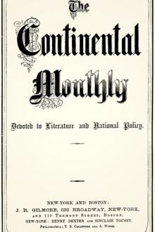 The Continental Monthly, Vol I, Issue I, January 1862