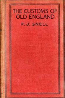 The Customs of Old England