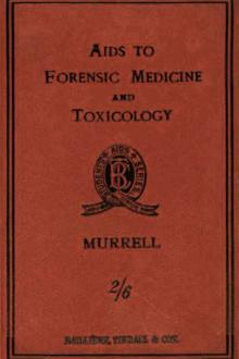 Aids to Forensic Medicine and Toxicology by W. G. Aitchison Robertson