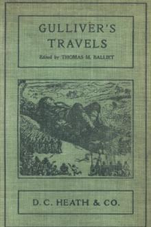 The Book Gullivers Travels By Jonathan Swift