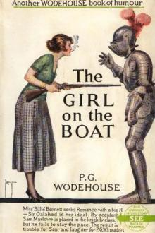 The Girl on the Boat by Pelham Grenville Wodehouse
