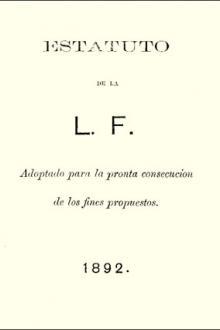 Estatuto de la L.F (Liga Filipina)