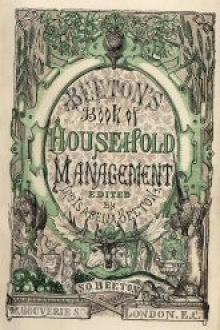 The Book of Household Management by Isabella Mary Beeton