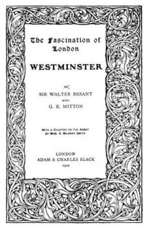 Westminster by Sir Walter Besant