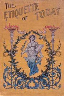 The Etiquette of To-day by Edith B. Ordway