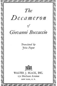 The Decameron of Giovanni Boccaccio by Giovanni Boccaccio