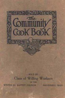 The Community Cook Book by Anonymous