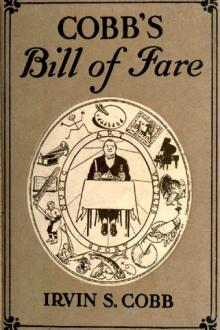 Cobb's Bill-of-Fare by Irvin S. Cobb