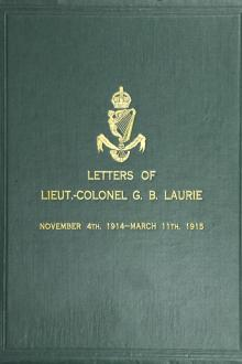Letters of Lt.-Col. George Brenton Laurie
