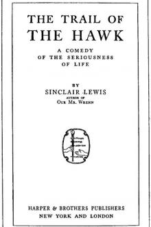 The Trail of the Hawk by Sinclair Lewis